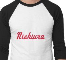 Nishiura  Men's Baseball ¾ T-Shirt