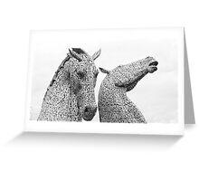 The Kelpies [1] Greeting Card