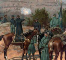 Civil War Battle of Chattanooga by Thulstrup (1880) Sticker