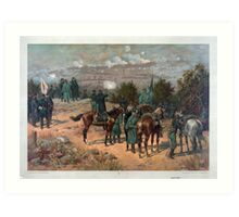 Civil War Battle of Chattanooga by Thulstrup (1880) Art Print