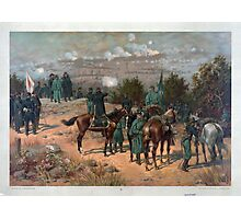 Civil War Battle of Chattanooga by Thulstrup (1880) Photographic Print