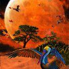Eastern Shore ~Jubilee Moon by Hal Smith