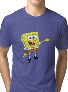 Spongebob 2 Tri-blend T-Shirt