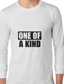 """G-Dragon """"One of a Kind"""" (Ver 2) Long Sleeve T-Shirt"""