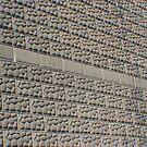 Wall of Stone Bricks by Karen K Smith