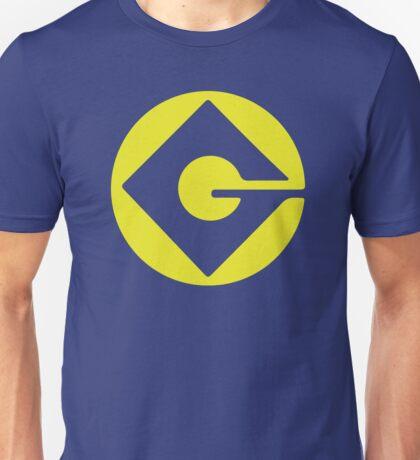 Minion logo- Gru despicable me Unisex T-Shirt