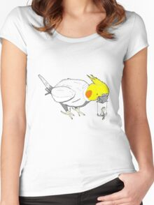 Bird toys Women's Fitted Scoop T-Shirt
