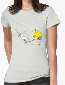 Bird toys Womens Fitted T-Shirt