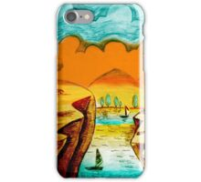 Hand Drawn Landscape iPhone Case/Skin