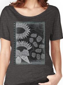 Vintage Floral Art Women's Relaxed Fit T-Shirt