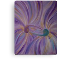 """Fine art. Abstract """"Twin flame"""". Oil painting Canvas Print"""