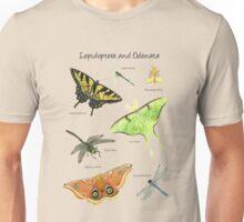 Butterflies and Dragonflies Unisex T-Shirt