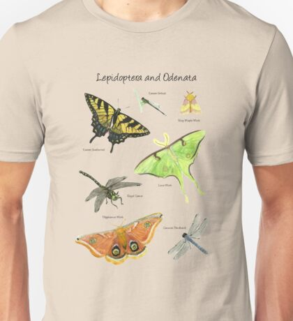 Butterflies and Dragonflies Unisex T-Shirt