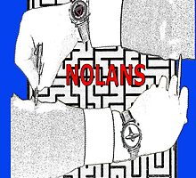In NOLANS We Trust Version 3 with maze by REDROCKETDINER