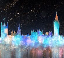 Westminster And Big Ben Cosmos by bill holkham