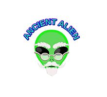 An Ancient Alien by Almdrs