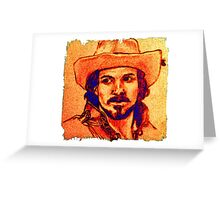 Aramis Portrait Illustration Greeting Card