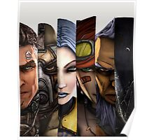 BOrderlands 2 Characters =2 Poster