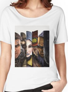 BOrderlands 2 Characters =2 Women's Relaxed Fit T-Shirt