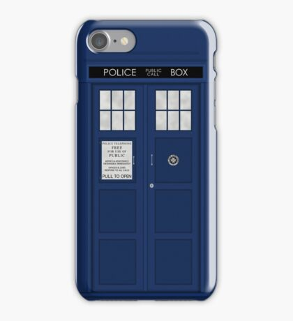 Doctor Who's Tardis iPhone Case/Skin