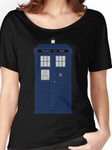 Doctor Who's Tardis Women's Relaxed Fit T-Shirt