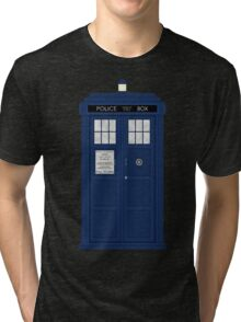 Doctor Who's Tardis Tri-blend T-Shirt