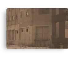 Wallace Street Canvas Print