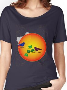 Sunrise Sunset Women's Relaxed Fit T-Shirt