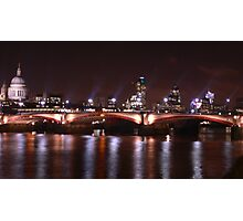 River view, London Photographic Print