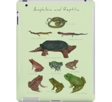 Amphibians and Reptiles iPad Case/Skin