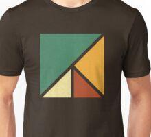 Colourful, Simple Geometric Design Unisex T-Shirt