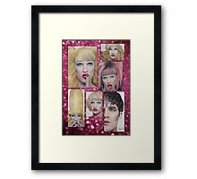 Darren Criss as Hedwig Framed Print