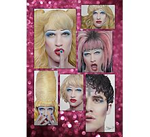 Darren Criss as Hedwig Photographic Print