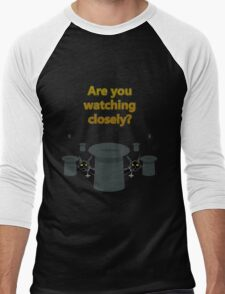 """The Prestige """"Are You Watching Closely"""" Men's Baseball ¾ T-Shirt"""