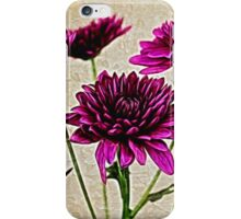Painted Pink Bouquet iPhone Case/Skin