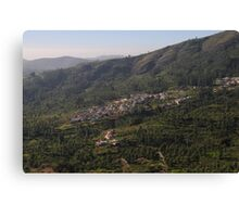 Nilgiri Hills, Resort,  Canvas Print