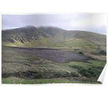 Burned Mountain, Dingle Peninsula, Kerry, Ireland Poster