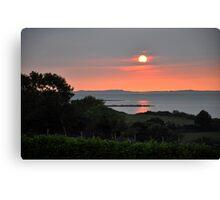 Kerry Sunset 2 Canvas Print