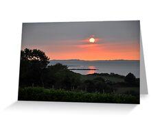 Kerry Sunset 2 Greeting Card