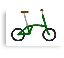 Folding bike Canvas Print