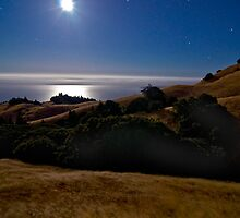 Moonlight over the Pacific by MattGranz