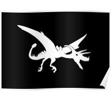 Ultimate Dinosaur (white design) Poster