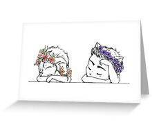 Spring is Coming - Sterek Greeting Card