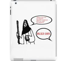 Alms For An Ex-Leper.  Spare a talent for an old ex-leper? T Shirts, Stickers and Other Gifts Monty Python's iPad Case/Skin