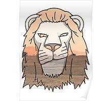 Lion Poster