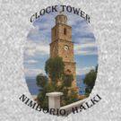 Halki Clock Tower by Tom Gomez