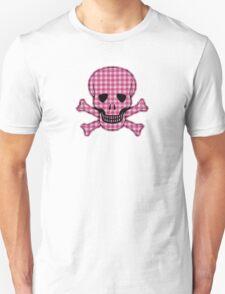 Gingham Skull T-Shirt