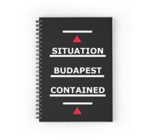 SAMARITAN of Interest Budapest Contained Spiral Notebook
