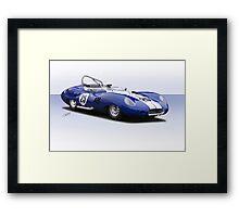 1959 Lister Costin Racecar Framed Print