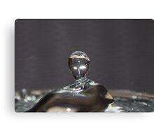 close up water Canvas Print